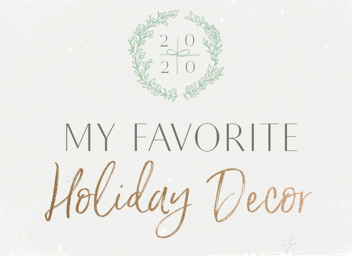 My Favorite Holiday Décor • The Blonde Abroad